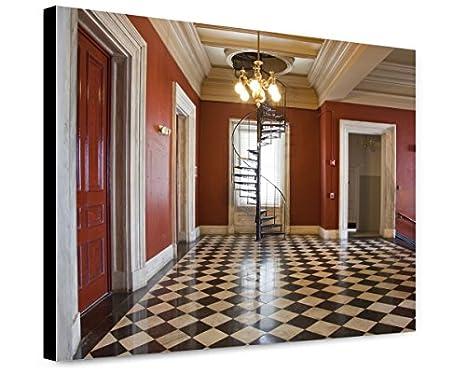 Amazon.com: ClassicPix Canvas Print 16x20: Corridor, U.S. ...