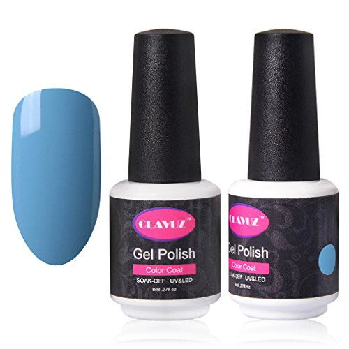 CLAVUZ Gel Nail Polish Magic Blue Soak Off UV Gel Lacquer Salon Nail Art Manicure Varnish 8ML