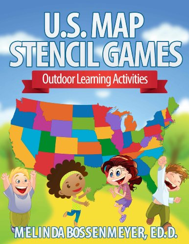 Download U.S. Map Stencil Games: Outdoor Learning Activities Pdf
