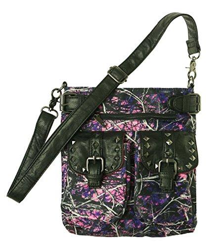 Monte Vista Womens Muddy Girl Crossbody Handbag