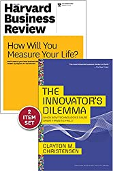 """The Innovator's Dilemma with Award-Winning Harvard Business Review Article """"How Will You Measure Your Life?"""""""