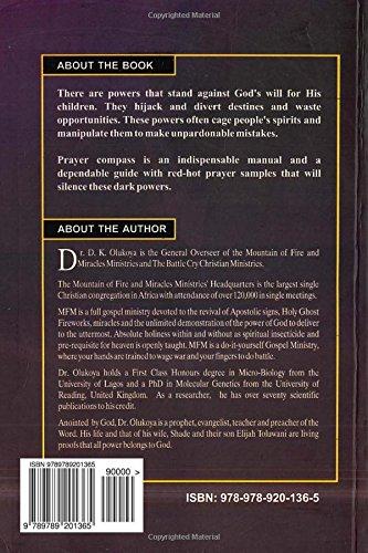 Prayer Compass: Dr  D  K  Olukoya: 9789789201365: Amazon com