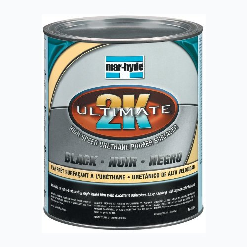 Mar-Hyde 4.4 Ultimate 2K High Speed Primer, 05554, Black, 1 gal