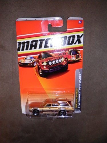 MATCHBOX 2010 HERITAGE CLASSICS 18/100 COPPER WOOD GRAIN '71 OLDSMOBILE VISTA CRUISER by Matchbox by (71 Oldsmobile Vista Cruiser)