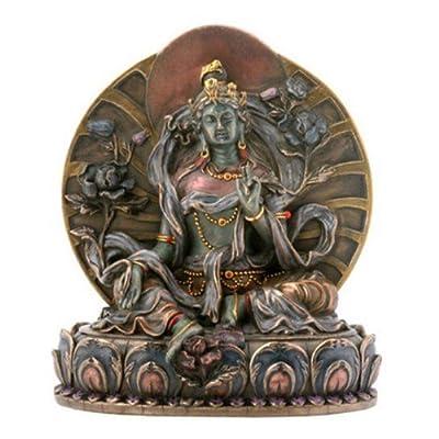 Small Green Tara Collectible Buddha Figurine