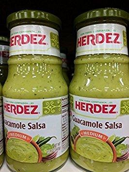 Herdez Guacamole Salsa 15.7 Oz (2 Pack)