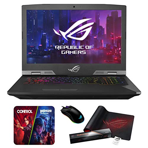 Compare ASUS ROG (G703GX-XB96K) vs other laptops