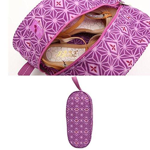 Tragbare Schuhbeutel-Schuhe Organisator-Halter-Speicherbeutel für Spielraum, E