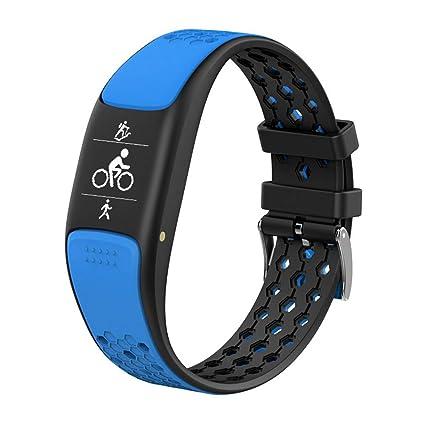 GLDMT P8 Intelligent Sports Heart Rate Pedometer Bracelet Bluetooth Multi-Sports GPS Multifunctional Waterproof Smart