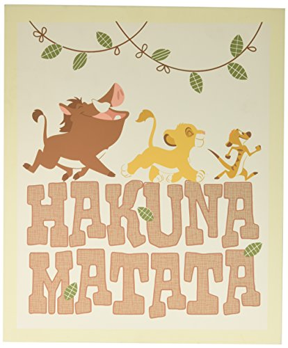 "Disney Lion King ""Hakuna Matata"" Wall Art"