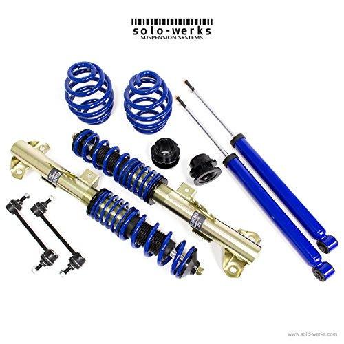 - Solo Werks S1BW002 - S1 Coilover Suspension System - BMW 3 Series E36 M3 '95-'98 Coupe, Sedan, Convertible