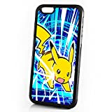 pokemon protective phone case - ( For iPhone 6 Plus / iPhone 6S Plus ) Durable Protective Soft Back Case Phone Cover - A11389 Pokemon Pikachu