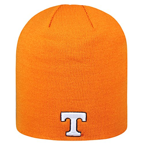 - Top of the World NCAA Classic Knit Beanie Hat-Tennessee Vols