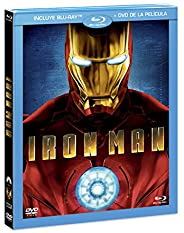 Iron Man (BR + DVD Combo Pack) [Blu-ray]