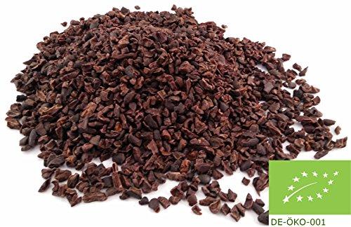 Nibs direkt vom Farmer - 500 g. Frisch gebrochen und schnell verschickt! BIO Kakaonibs von Edelmond.