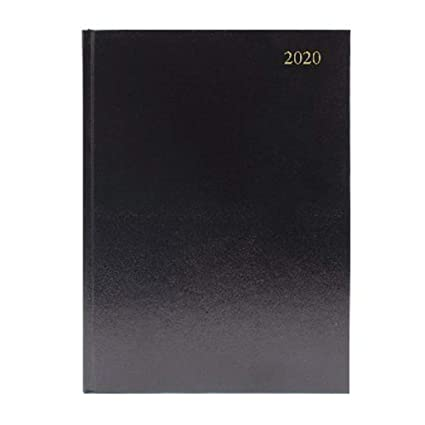 Agenda de escritorio A4, vista semanal, 2020, color negro ...