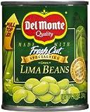 Del Monte Fresh Cut Green Lima Beans, 8.5 oz, 12 pk