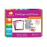 Feelings and Faces - Educational Craft to explore Emotions for Preschoolers Ages 3-6 years - Social Skill Games for kids