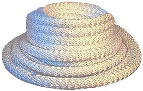 "Round Fiberglass Rope Seal 1000 Degree 25/' FEET 1//8"" Wood Stove Door Gasket"