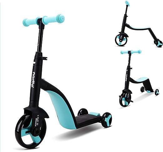 Bicicleta de Equilibrio 3 en 1 para bebés y niños de 1 año, 10 ...