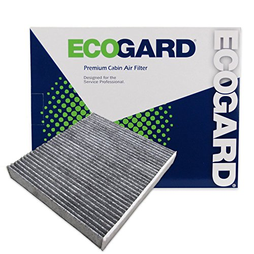 ECOGARD XC10218C Cabin Air Filter with Activated Carbon Odor Eliminator - Premium Replacement Fits Lexus IS250, GS350, IS350, GS450h, IS300, RC350, RC Turbo, RC300, RC F, GS F, GS Turbo, IS Turbo ()