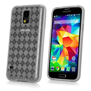 Galaxy S5 Case, BoxWave® [Arctic Frost Crystal Slip] Flexible, Form Fitting, TPU Case for Samsung Galaxy S5 - Frosted Clear