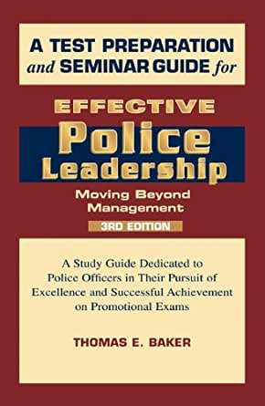 Read books effective police leadership 3rd edition online to buy.