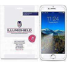 iPhone 8 Screen Protector [3-Pack], iLLumiShield Screen Protector for iPhone 8 Clear HD Shield with Anti-Bubble & Anti-Fingerprint Film