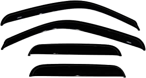Auto Ventshade 94044 Original Ventvisor Side Window Deflector Dark Smoke, 4-Piece Set for 1999-2006 Silverado & Sierra 1500, 2001-2004 Silverado & Sierra 2500, 2001-2006 Silverado & Sierra 2500HD &3500 | Also fits 2007 HD Classic Models | Fits Trucks with Extended Cab
