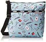LeSportsac Small Cleo Cross Body Bag, Love Letters Blue, One Size