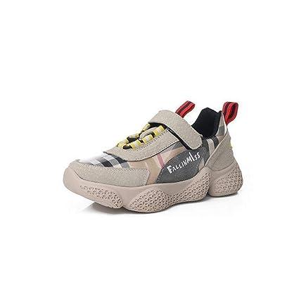 d3fbf16f27c18 zj Velcro Niños Zapatos para Correr Ins Súper Fuego Chicas Zapatos  Deportivos Chicos Viejos Zapatos Chicos