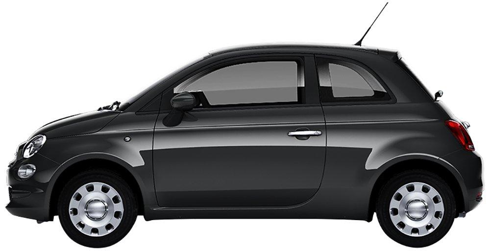 noleggio a lungo termine Be-Free Welcome Kit Fiat 500 Pop 1.2 bz 69cv Grigia