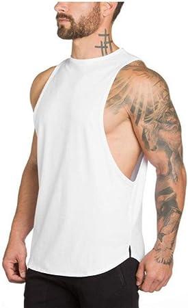 DSHRTY Top de Verano,Ropa Bodybuilding Tank Top Hombres ...