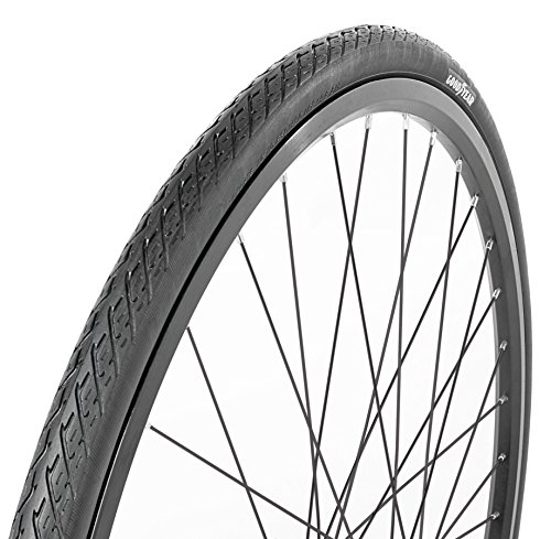 "Goodyear Folding Bead Road Bike Tire, 27"" x 1.25"", Black"