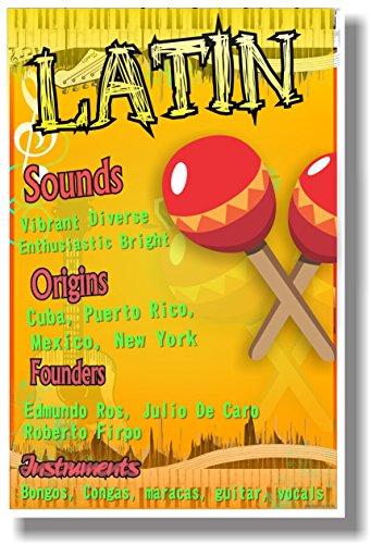 - Latin - NEW Music Poster