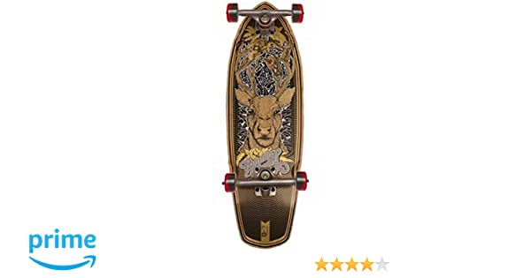 Amazon.com   Bamboo Skateboards Boardwalk Cruiser Running on Empty Graphic  Complete Skateboard 4e9d9d60fd6