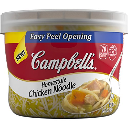 Campbell's Homestyle Soup, Chicken Noodle, 15.4 Ounce (Pack of 4)