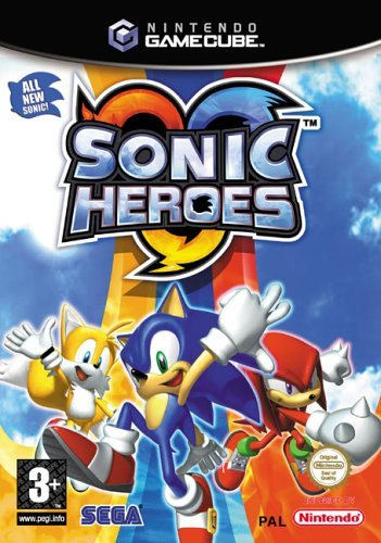Sonic Heroes Gamecube game cube
