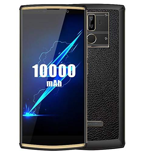 OUKITEL K7 Pro (2019) 4G Smartphone ohne Vertrag mit 10000 mAh Akku, 6,0 Zoll HD+ Display, Octa Core 2,0 GHz 4 GB RAM 64…
