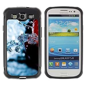 Licase Funda Carcasa protectora - Nature Beautiful Forrest Green 108 - Samsung Galaxy S3