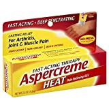 Aspercreme Heat Pain Relieving Gel - 2.5 oz, Pack