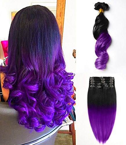 Mores (Black To Purple Hair)