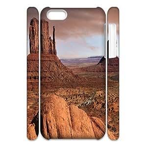 Desert Scenery Customized 3D Case for Iphone 5C, 3D New Printed Desert Scenery Case