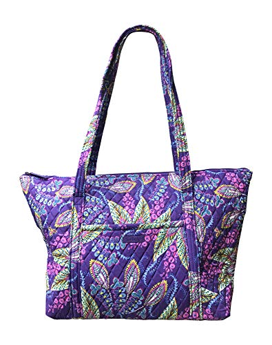 (Vera Bradley Miller Travel Tote Bag, Batik Leaves)