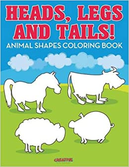 Animal Shapes Coloring Book Creative Playbooks 9781683237648 Amazon Books