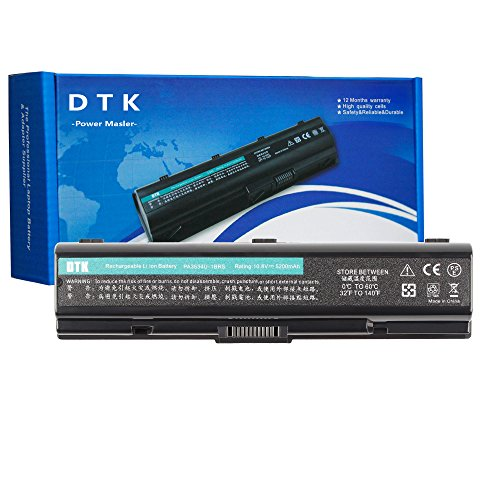 Dtk Laptop Battery for Toshiba Pa3534u-1brs Pa3533u-1brs Pa3535-1bas Satellite A200 A205 A210 A215 A300 A305 A350 A355 A500 A505 L200 L201 L202 L203 L205 Satellite Pro P300 Notebook Battery (A215 Series Laptop)