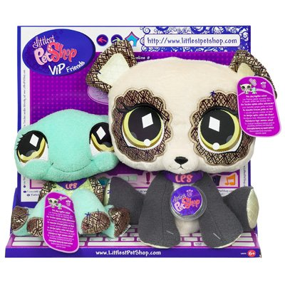 Hasbro Littlest Pet Shop VIP BFF Panda and Turtle