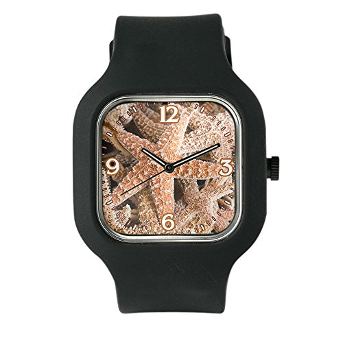 Marine Ladies Watch Collection Star (Black Fashion Sport Watch Collection Of Starfish)