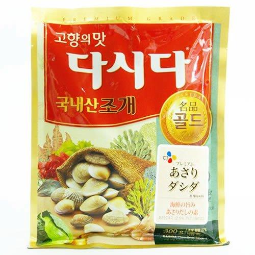 Korea seasoning clams dashida (Asaridashida) 300gX2 bag set by Dashida