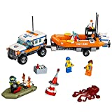 LEGO City Coast Guard 4 x 4 Response Unit 60165 Building Kit (347 Piece)